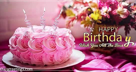 New cute Happy Birthday Wishes for father mother sister brother wife husband girlfriend boyfriend 13