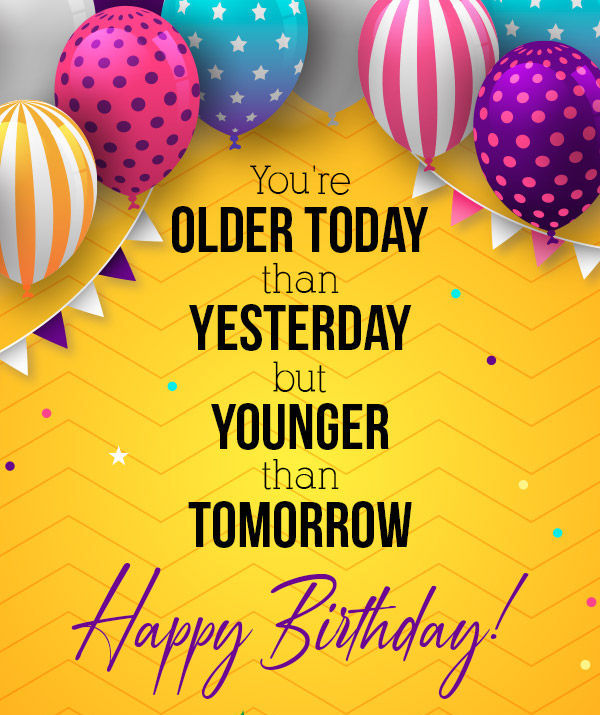New cute Happy Birthday Wishes for father mother sister brother wife husband girlfriend boyfriend 20