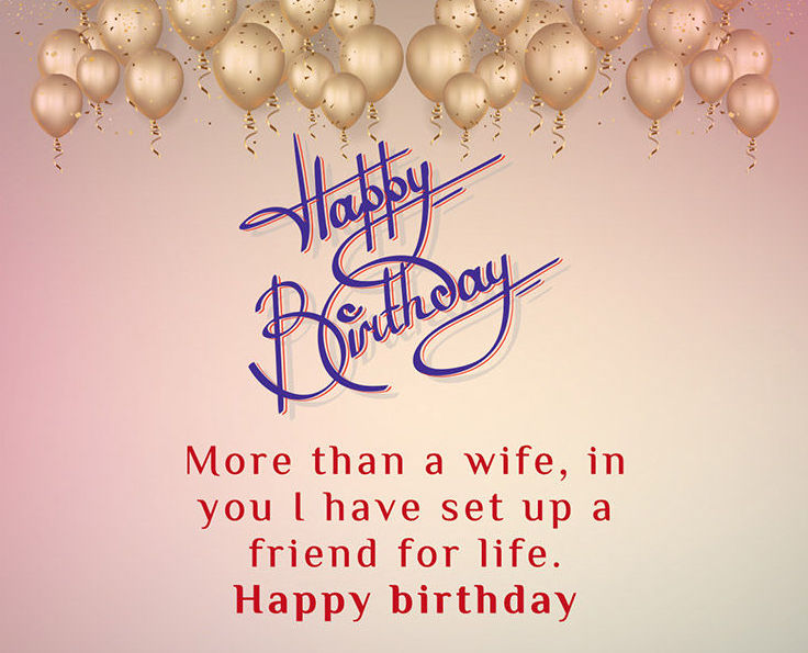 New cute Happy Birthday Wishes for father mother sister brother wife husband girlfriend boyfriend 21