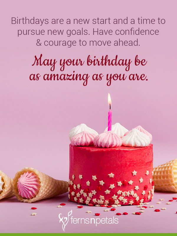New cute Happy Birthday Wishes for father mother sister brother wife husband girlfriend boyfriend 22