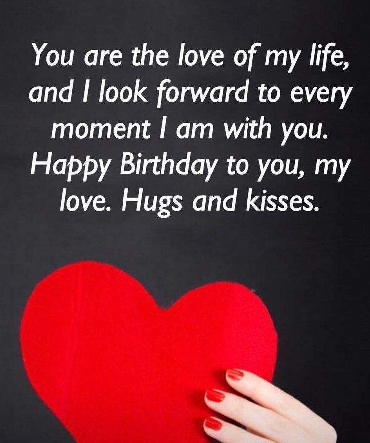 New cute Happy Birthday Wishes for father mother sister brother wife husband girlfriend boyfriend 24