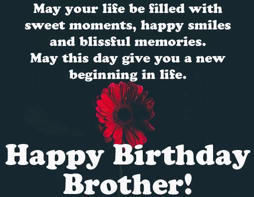 New cute Happy Birthday Wishes for father mother sister brother wife husband girlfriend boyfriend 28