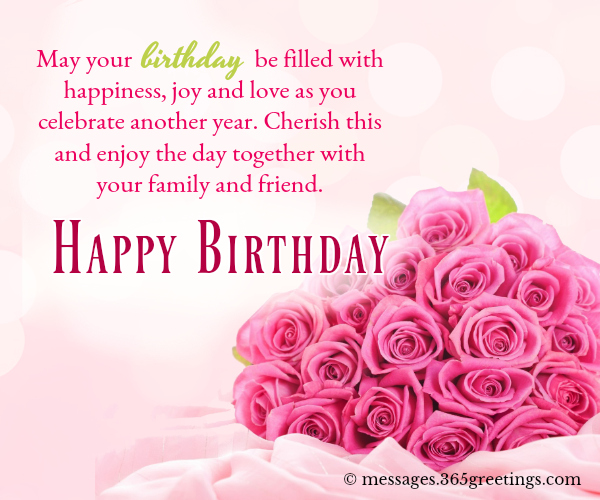 New cute Happy Birthday Wishes for father mother sister brother wife husband girlfriend boyfriend 34