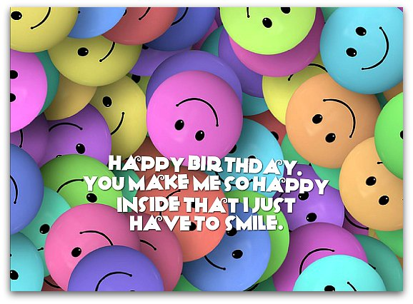 New cute Happy Birthday Wishes for father mother sister brother wife husband girlfriend boyfriend 37
