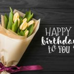 Birthday-wish-yellow-tulips