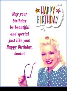 Birthday Message For Aunt