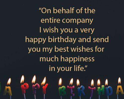 corporate birthday greetings best wishes quotes