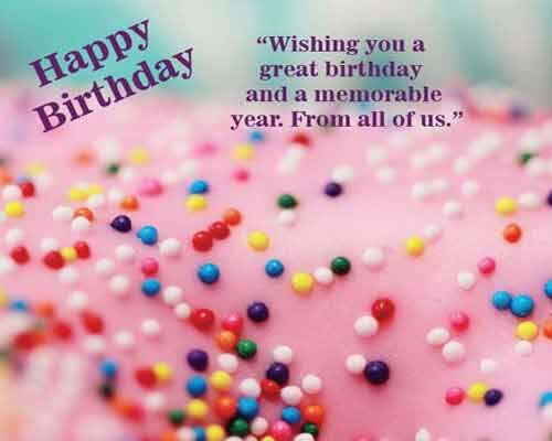 CORPORATE BIRTHDAY GREETING Wishes images